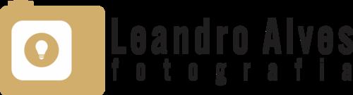 Logotipo de leandro alves