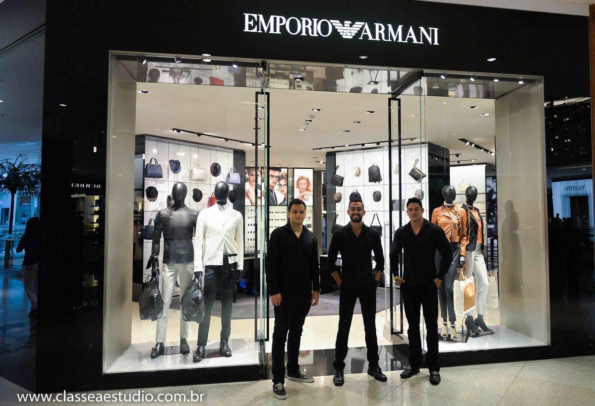 7da950b1183ff Eventos - Lançamento da nova coleção Emporio Armani - Recife -PE