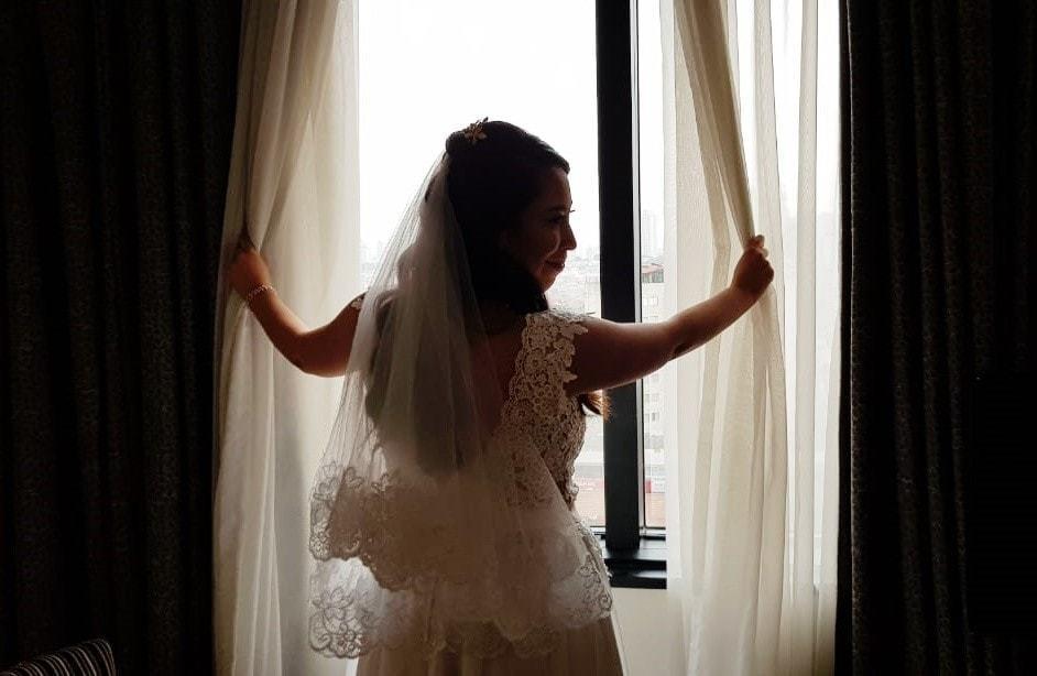 Imagem capa - Largo tudo se a gente se casar domingo!  Luiza e Kelvin por Noiva de Vitrine