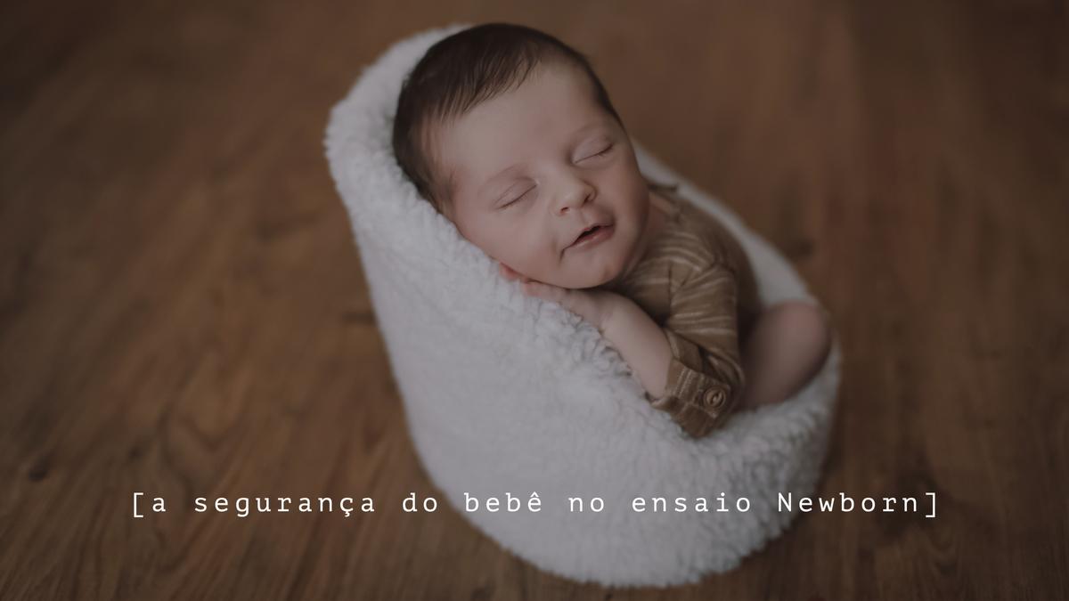Imagem capa - A segurança do bebê no ensaio Newborn por Bia Ferreira Fotografia
