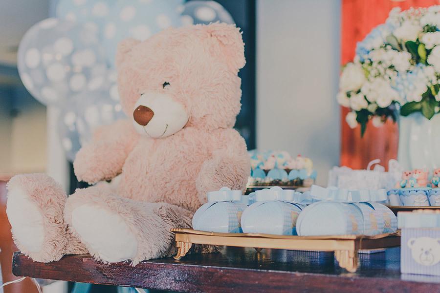 ursinho chá de bebê