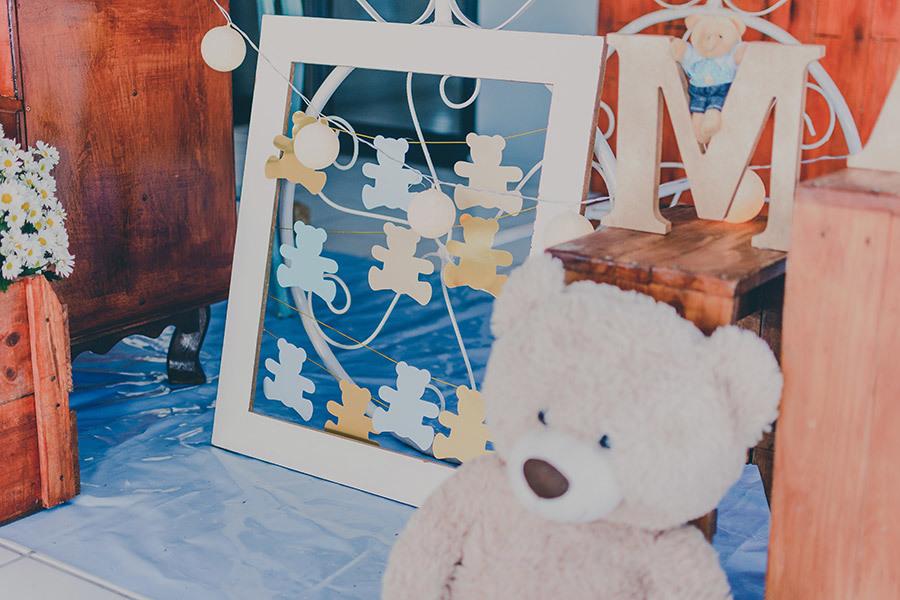 detalhe fofo na decoração do chá de bebê do murilo em maceió