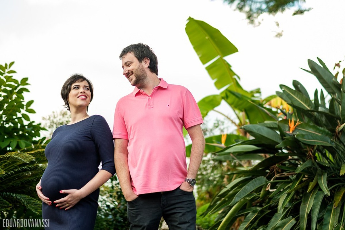 Gestação Luciano e Grayce Kelly