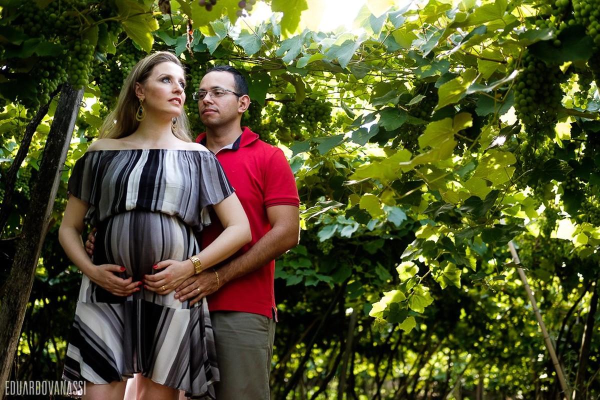 Gestação Ennio e Lisandra