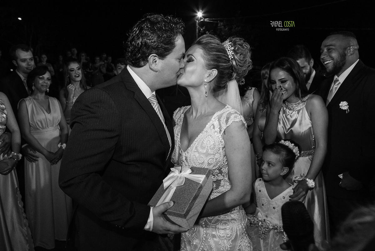 Foto de Carla e Vinícios