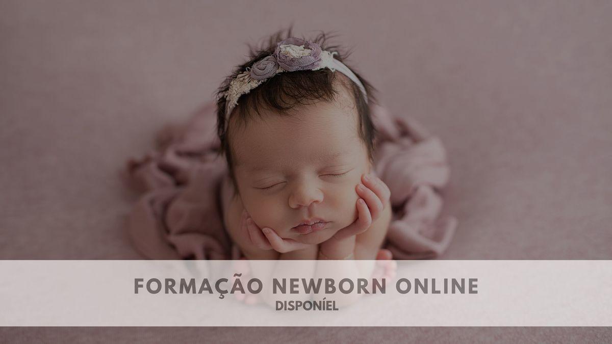 Imagem capa - Formação Online - Newborn por ANDREIA  GARCIA