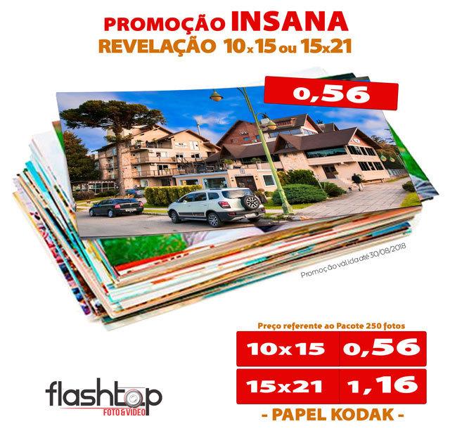Imagem capa - PROMOÇÃO INSANA DE REVELAÇÕES  por FLASHTOP
