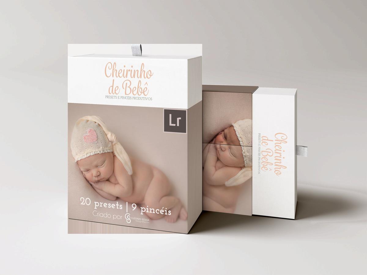 Imagem capa - Coleção Cheirinho de Bebê - Presets e Pincéis Produtivos para o Lightroom por Gustavo Sousa Fotografia