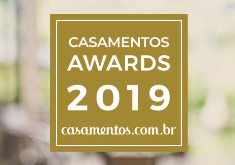Imagem capa - Conquistamos o Award 2019 na categoria Fotografia, o prêmio mais importante do setor nupcial por Foto Certa
