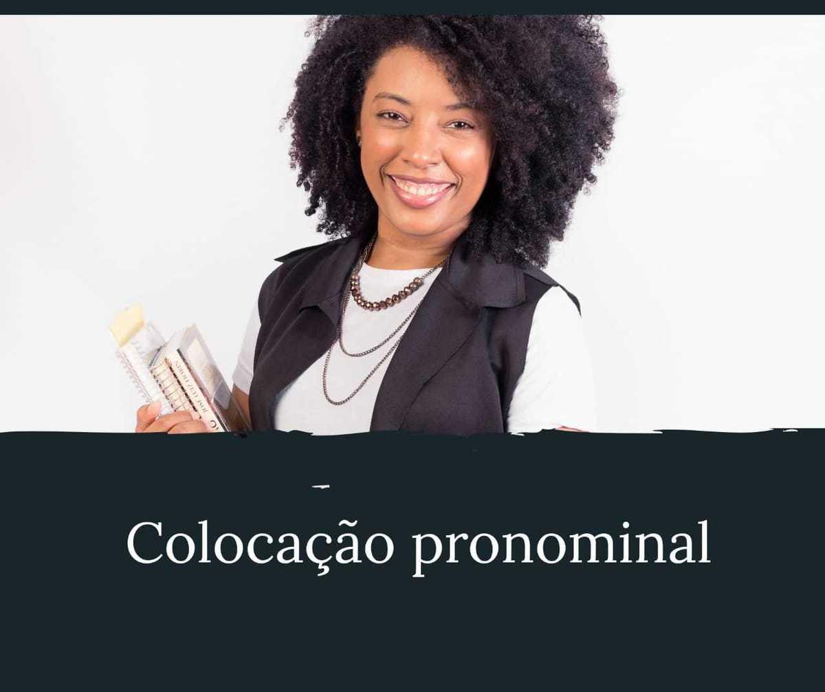 Imagem capa - Colocação Pronominal por Andrea Correa