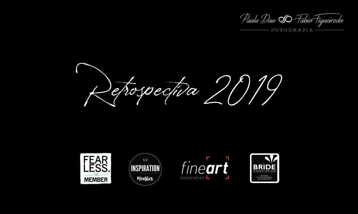 Imagem capa - Retrospectiva 2019. por Paula e Fábio Fotografia