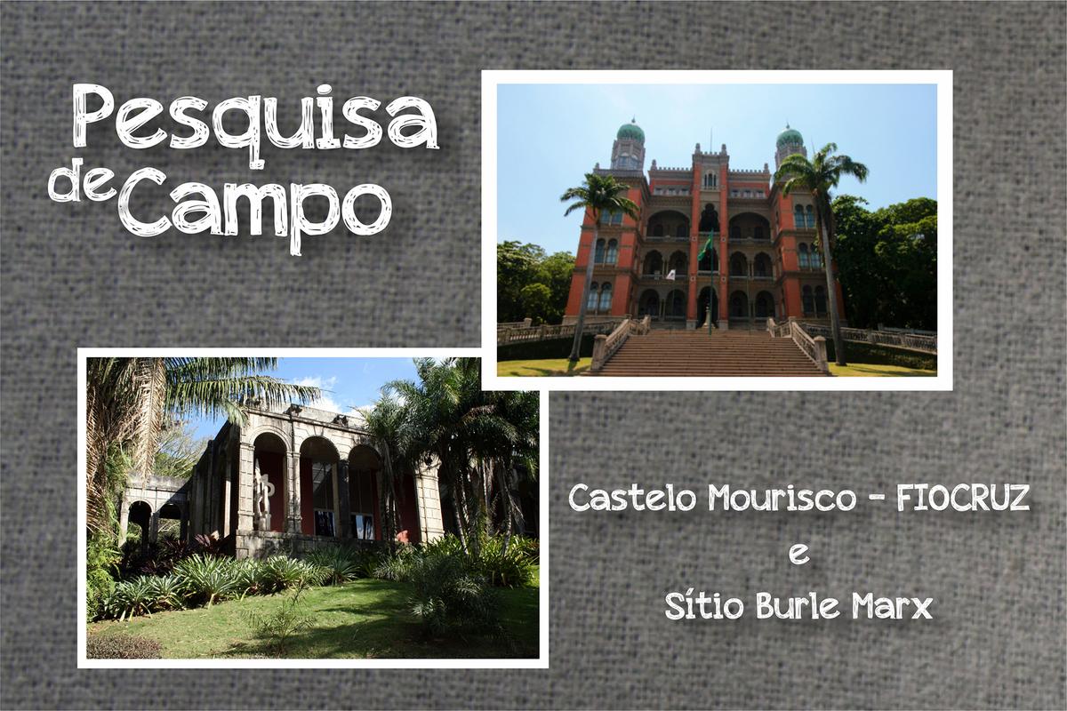 Imagem capa - Castelo Mourisco e Sítio Burle Marx - Pesquisa de Campo #001 por Paula e Fábio Fotografia