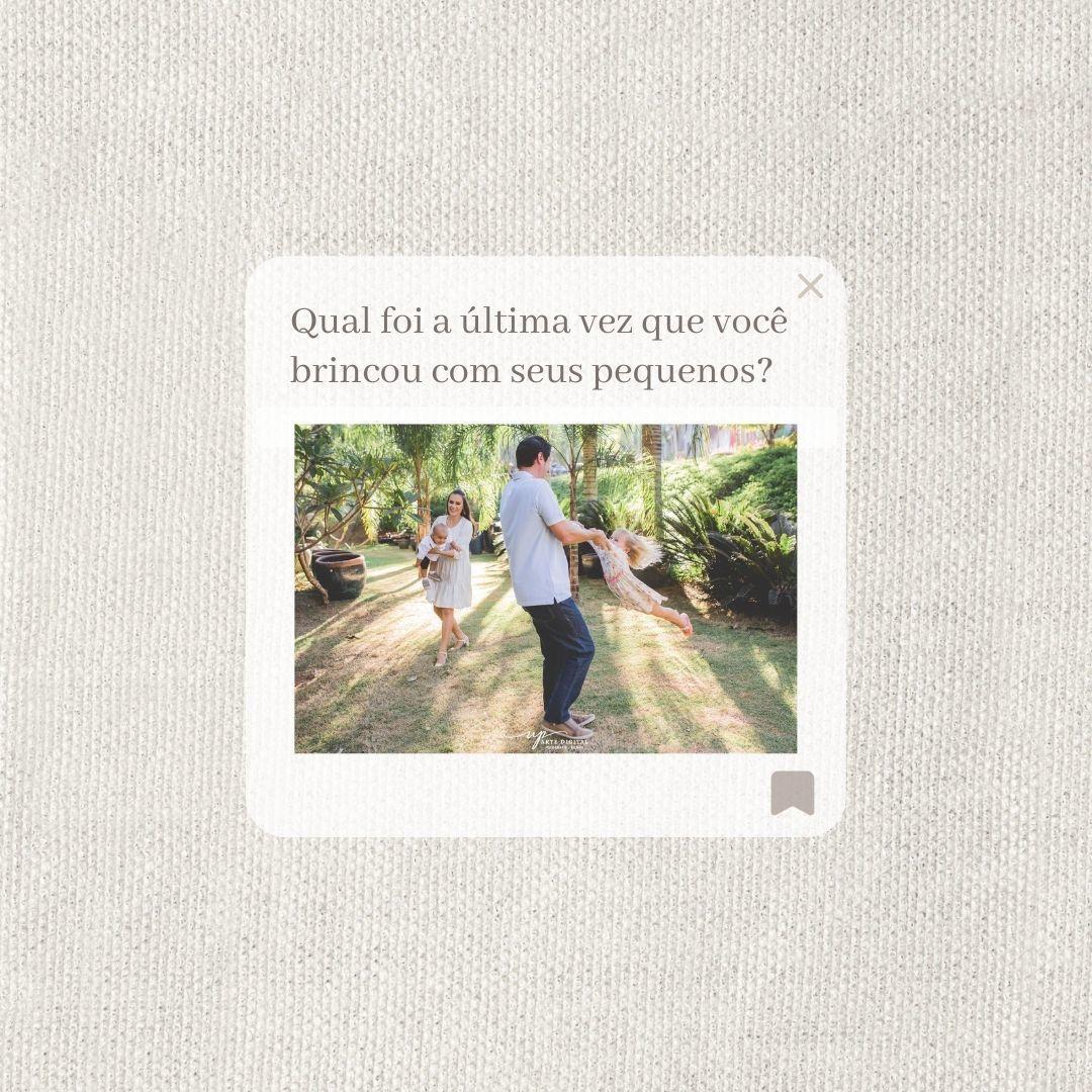 Imagem capa - Você brinca com seus filhos? por UP Arte Digital