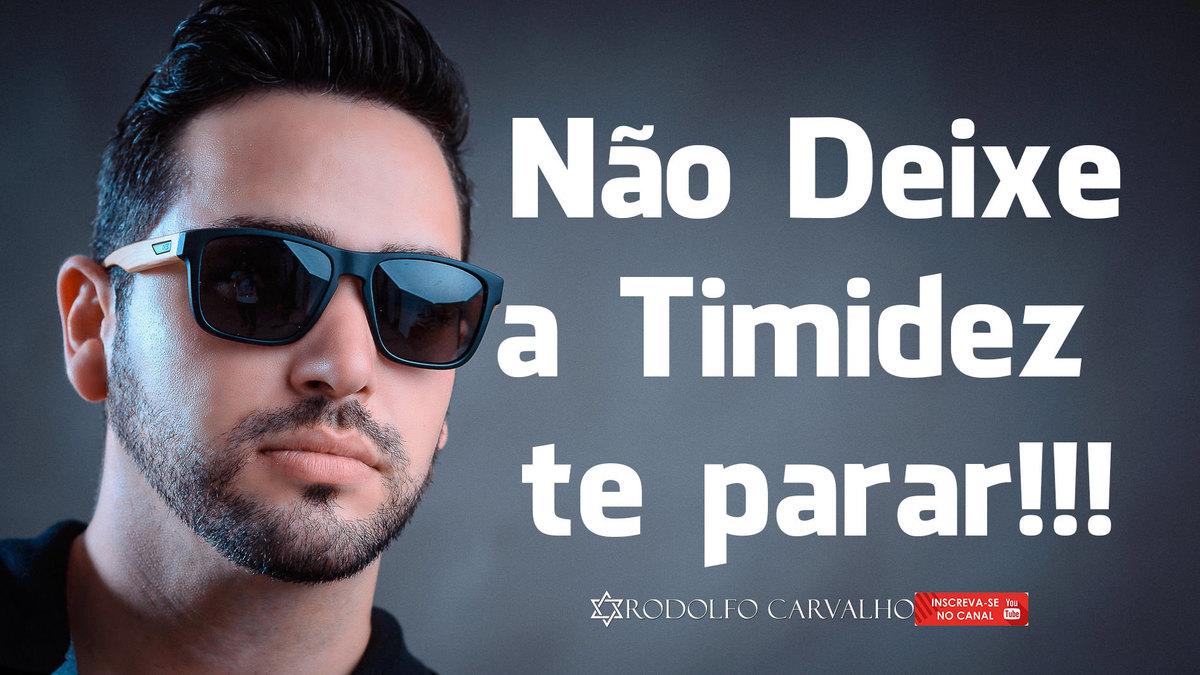 Imagem capa - Não deixe a Timidez te parar! por Rodolfo Carvalho - Rodox Photo