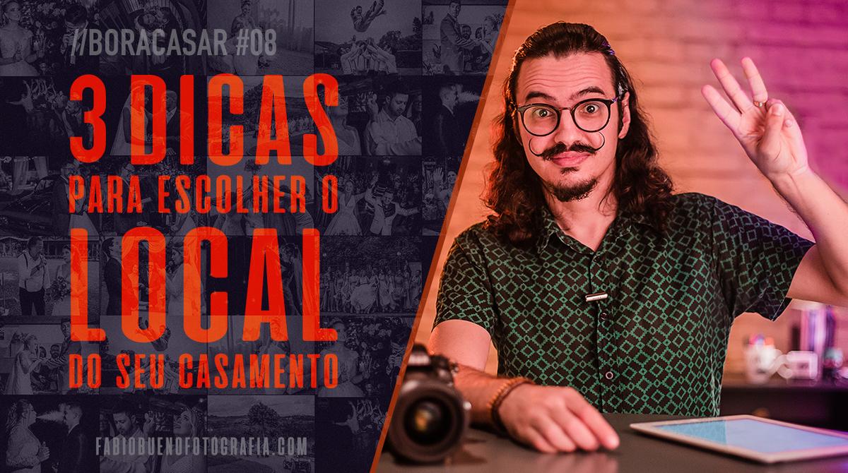Imagem capa - Como escolher o Local do seu Casamento ?! | #BORACASAR 08 por FABIO BUENO FOTOGRAFIA