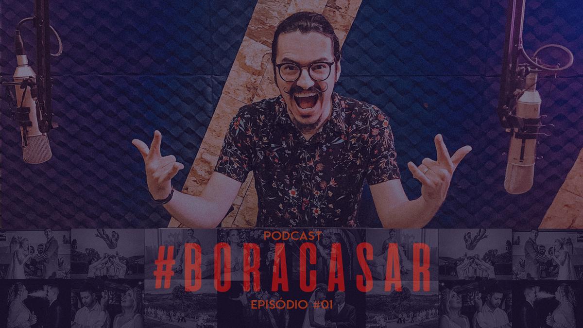 Imagem capa - PodCast #BORACASAR 01 | A estréia na 104.9 FM por FABIO BUENO FOTOGRAFIA