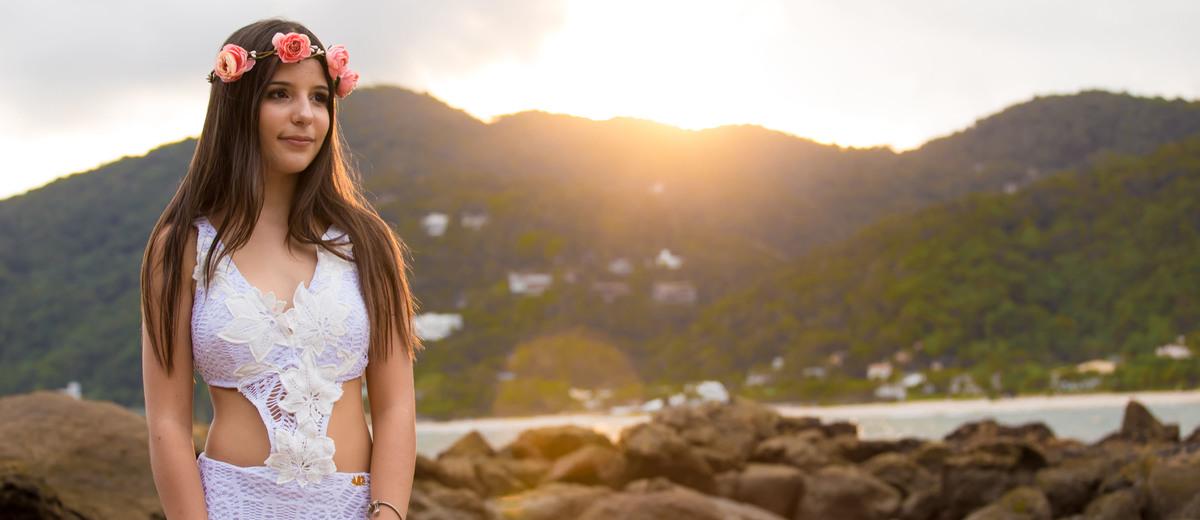 Imagem capa - Fernanda - 15 anos - Praia das conchas - por Adilson Marques por LBS Studio
