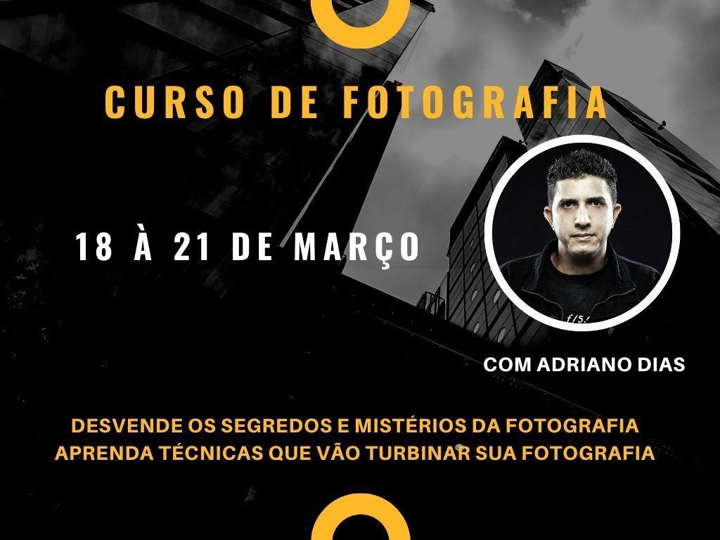 Imagem capa - CURSO DE FOTOGRAFIA por ADRIANO DIAS