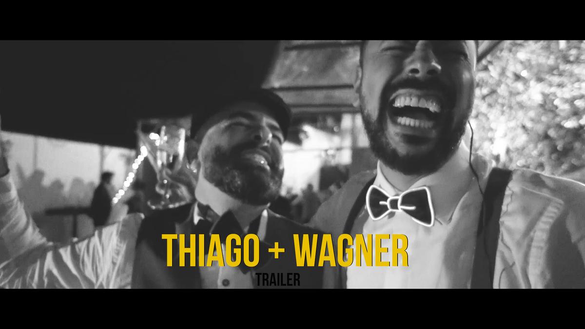 Imagem capa - Eu os declaro marido e marido - Casamento em casa do Thiago e Wagner  por Jéssica Andrade