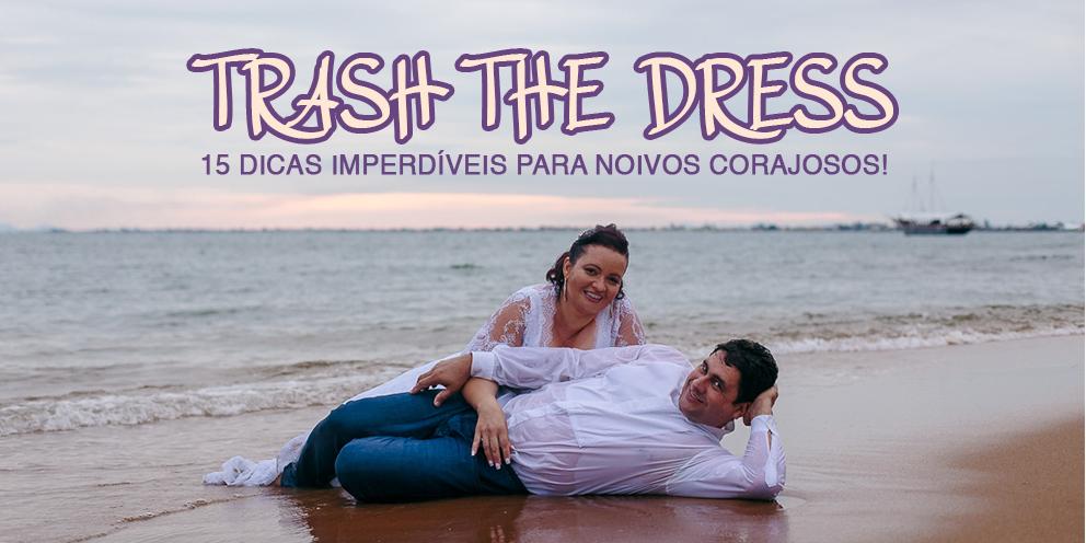 Imagem capa - TRASH THE DRESS, um ensaio para noivos corajosos! por Victor Suriano Pereira