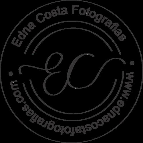 Logotipo de edna costa fotografias