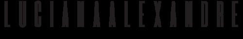 Logotipo de Luciana Alexandre