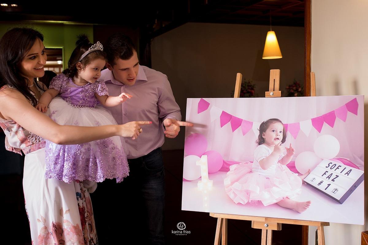 Imagem capa - A festa de um ano não é só do bebê!!  por Karina Ferreira Frias