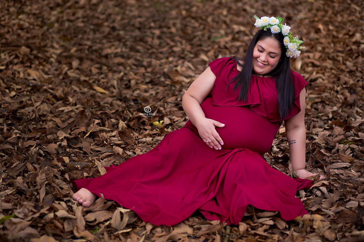 Imagem capa - A alegria de ver o bebê se mexendo por Karina Ferreira Frias