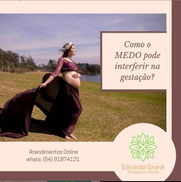 Imagem capa - Como o medo pode interferir na gestação? por Karina Ferreira Frias