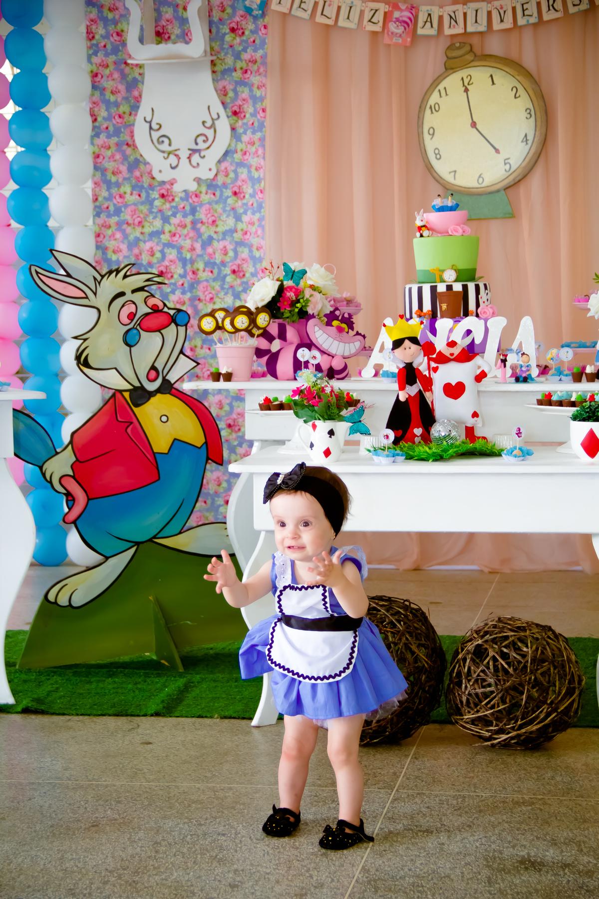 Aniversário Alicia 1 ano