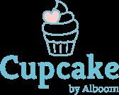 Logotipo de Cupcake by Alboom