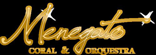 Logotipo de Menegato Coral e Orquestra