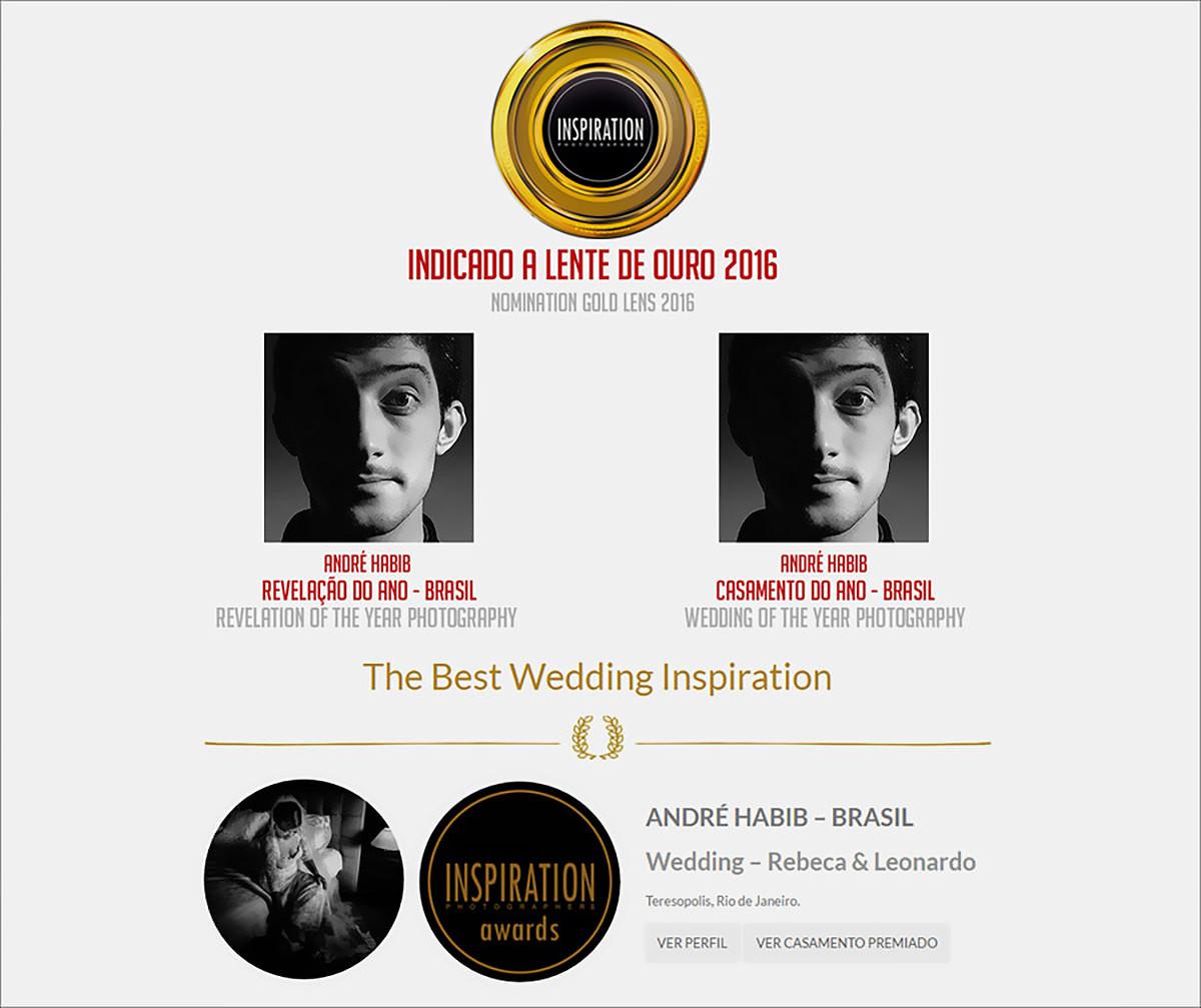 Imagem capa - Prêmio | The Best Wedding por André Habib