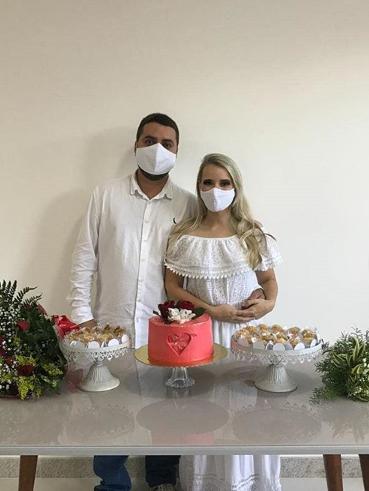 Imagem capa - Número de casamentos civis aumentou durante a pandemia. por GISELLE FRABONY ASSESSORIA DE EVENTOS