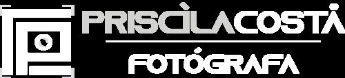 Logotipo de Priscila Costa Fotógrafa