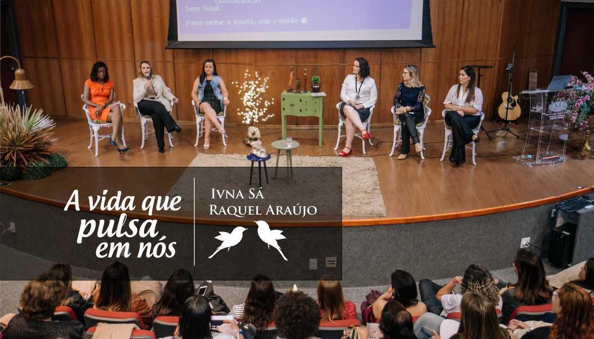Imagem capa - Lançamento do livro A VIDA QUE PULSA EM NÓS por Ivna Sá Para Mulheres