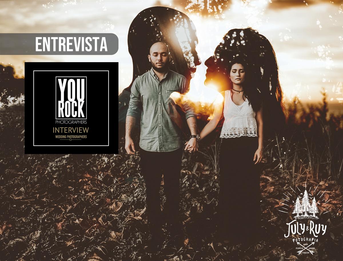 Imagem capa - Entrevista para o @YouRockPhotographers! por July e Ruy Fotografia