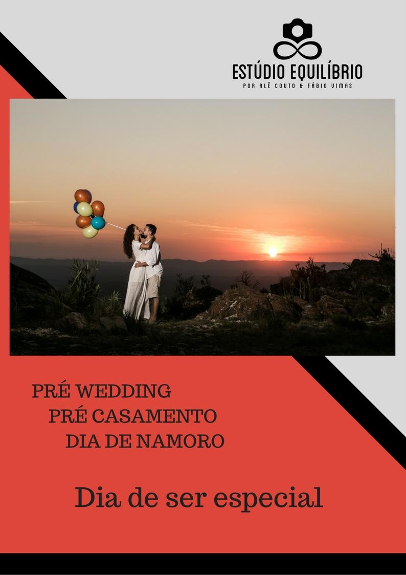 Imagem capa - Pré Wedding, Pré Casamento, Dia de Namoro por Estúdio Equilíbrio