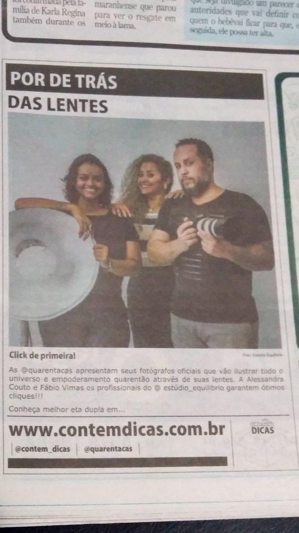 Imagem capa - Matéria do Jornal Super - 20/03/2018 - Contem Dicas por Estúdio Equilíbrio