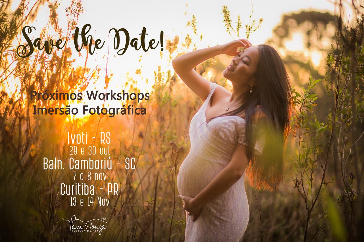 Imagem capa - Workshop Olhando com Amor Gestantes por Pam Souza