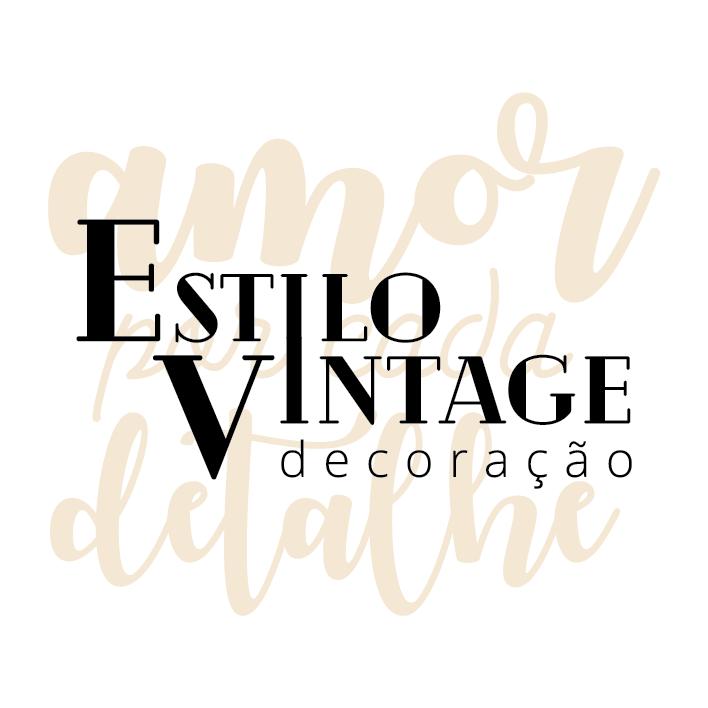 Contate Estilo Vintage decoração