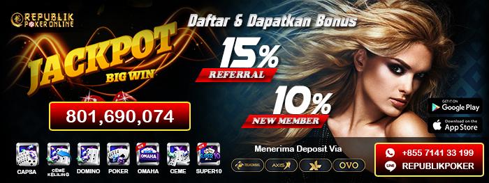 Imagem capa - Situs Poker Online Terpercaya PokerRepublik por pokerrepublik