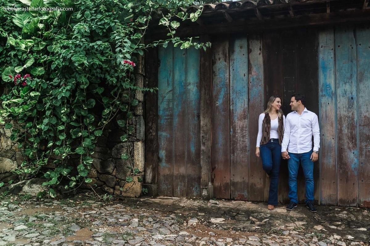 Foto de Etieny e Bruno