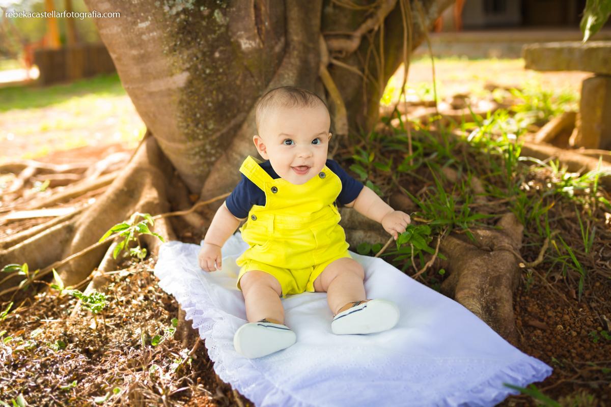 Foto de Arthur com 8 meses
