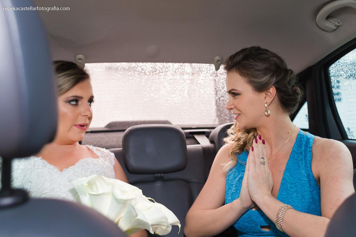 acalmando a noiva