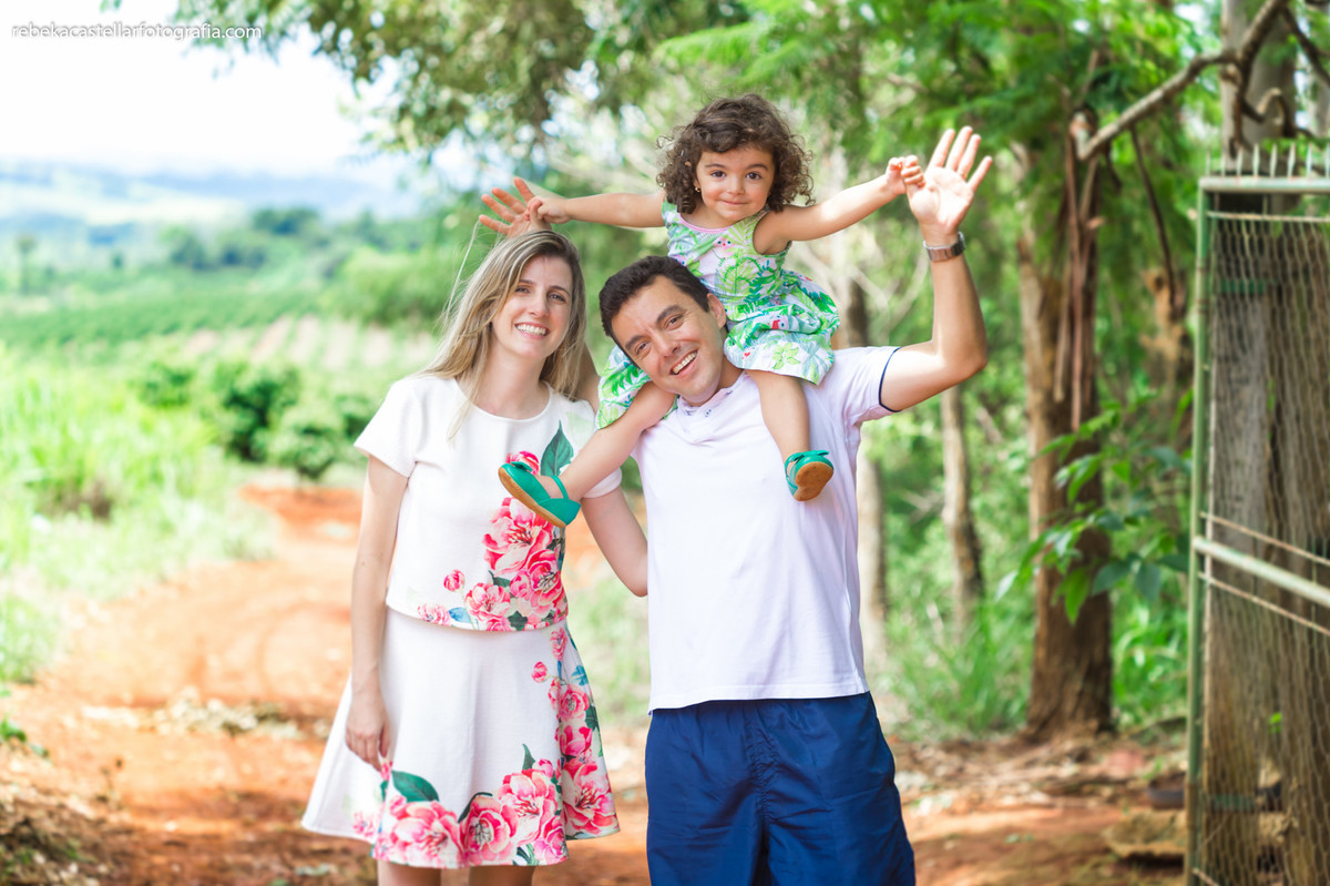 Foto de Kírie, Marcelo e Ana Luiza