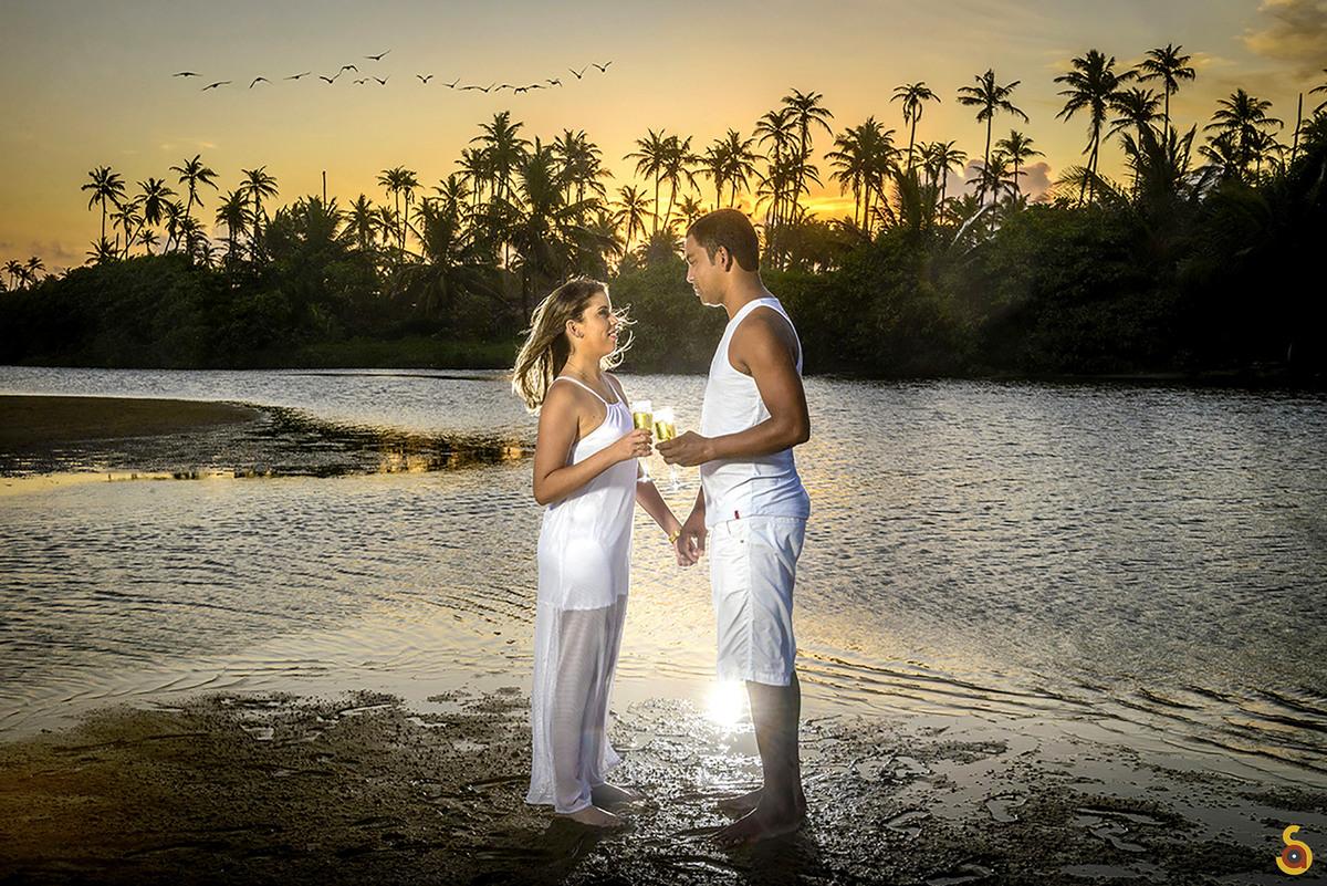 Imagem capa - As 3 melhores  praias no Litoral Norte da Bahia para um pré wedding perfeito! por Augusto dos Santos