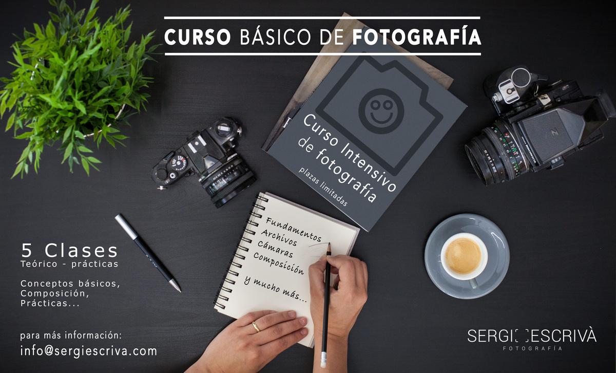 Imagem capa - Curso Básico de Fotografía en Gandia por Sergi Escriva Fotografia