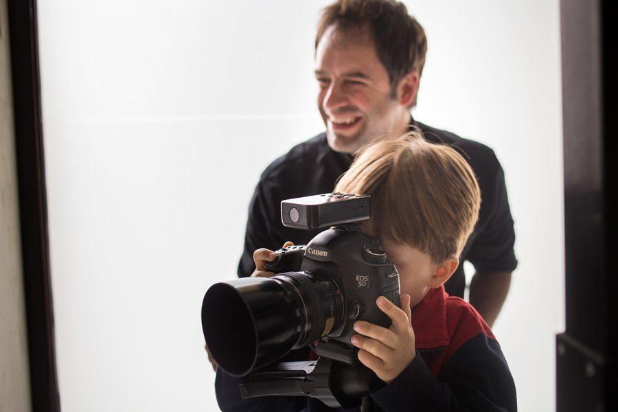 Imagem capa - Una sesión de fotos con papá. por Sergi Escriva Fotografia