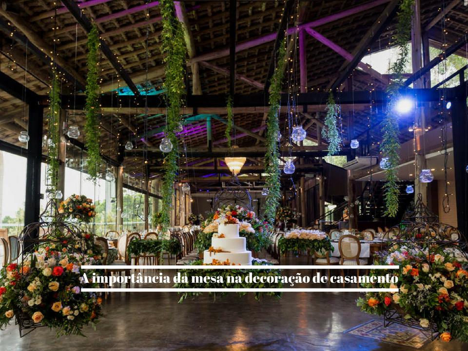 Imagem capa - A importância da mesa na decoração de casamento por Fotógrafo John Edgard